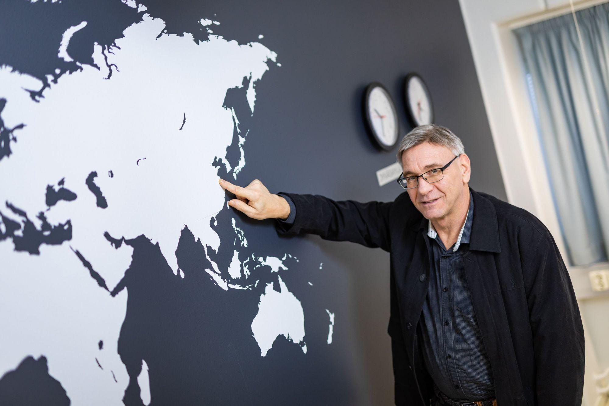 Jukka Kaukanen World map