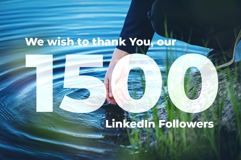 1500 LinkedIn followers