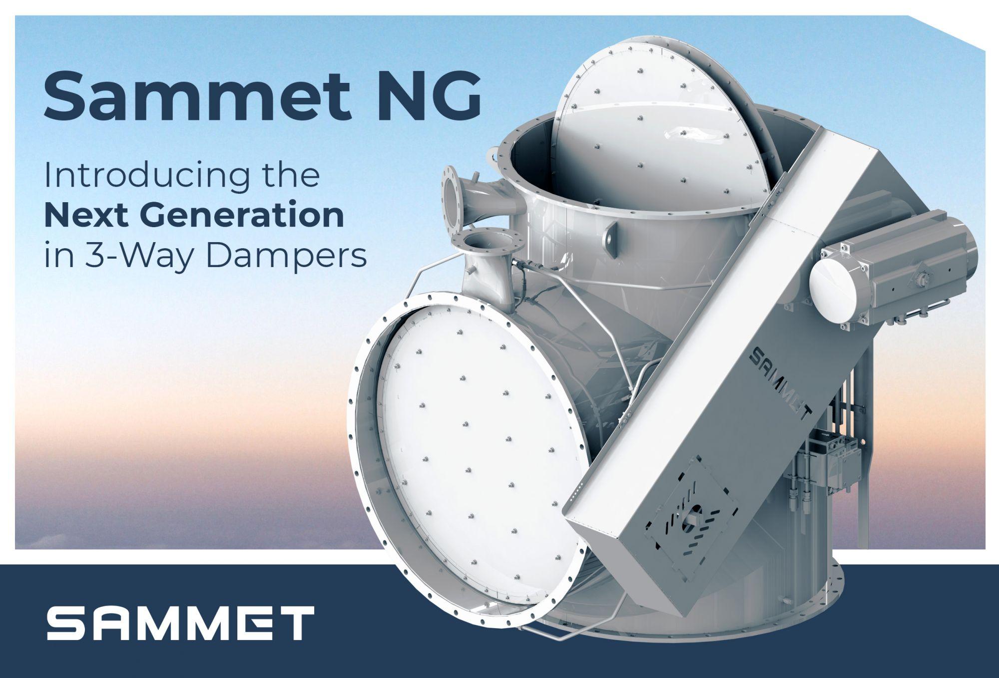 The Next Generation - Sammet NG 3-Way Dampers